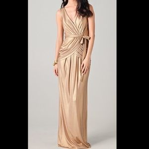 Metallic Gold ALICE by Temperley Gown